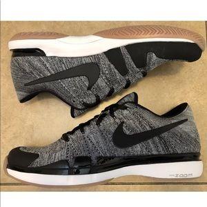 0053d2b7bde40 Nike Shoes - NIKE ZOOM VAPOR FLYKNIT FEDERER OREO SIZE 12.5